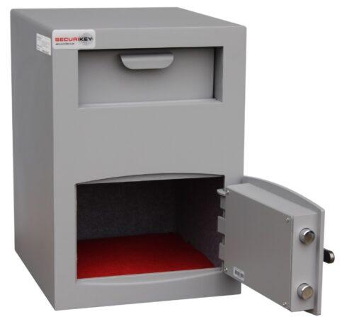 Mini vault deposit safe
