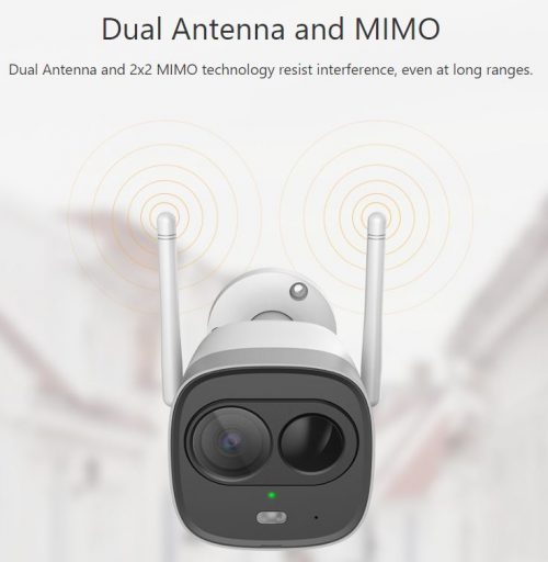 Dual antenna
