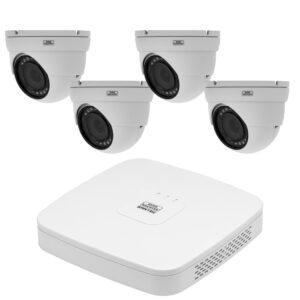 4 camera CVI kit - Dome