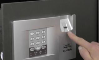 finger scan lock
