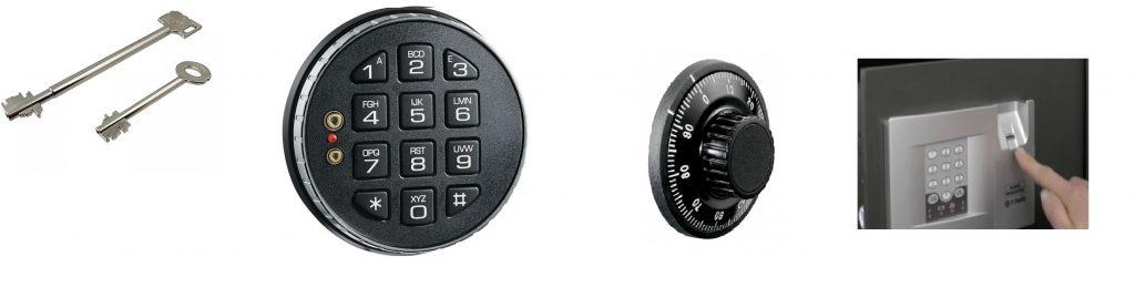 types of safe locks