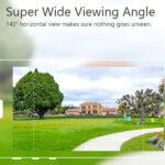 Doorbell wide angle view